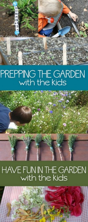12 things for the kids to do help plant the garden, take care of it and then enjoy what they grow. (I love these!)