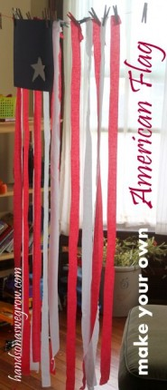 Make your own American Flag Activity for Kids
