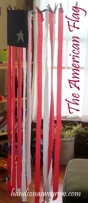 The American Flag Craft Activity for Kids
