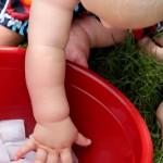 Baby Sensory with Ice