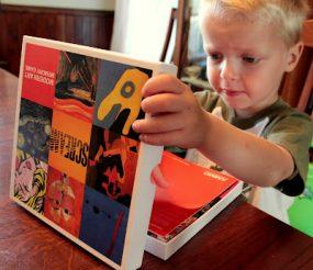 Modern Art Memory Game : Giveaway