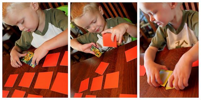 memory game for preschoolers