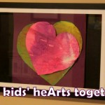 Valentine's Day Art: The Kids' HeArts