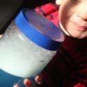soapy jar sensory