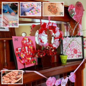 10 Valentine's Day Crafts & Activities