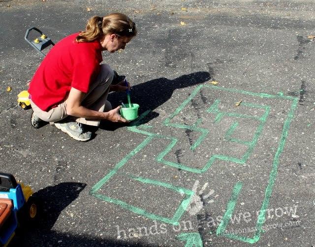 preschooler maze activity