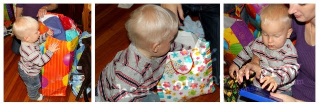 tissue paper presents