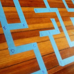 Alphabet Letter Maze