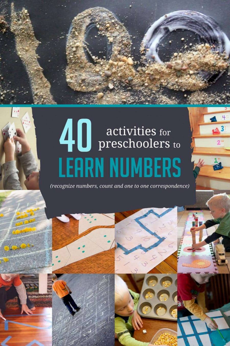 Games For 3 Year Olds: 40 Awesome Number Activities For Preschoolers