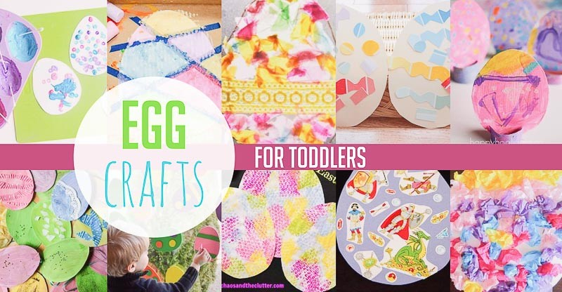 Easter egg crafts for toddlers