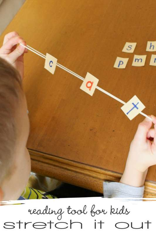how to teach kids to read words the that