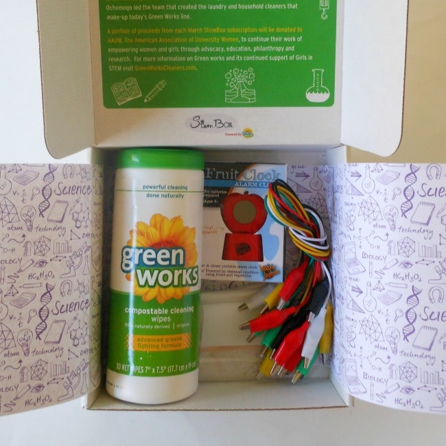 StemBox monthly subscription STEM box