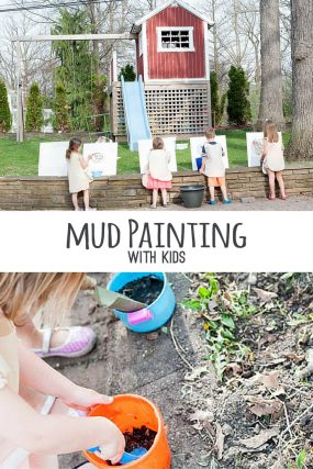 Look What Happens When Happy Kids Paint with Mud