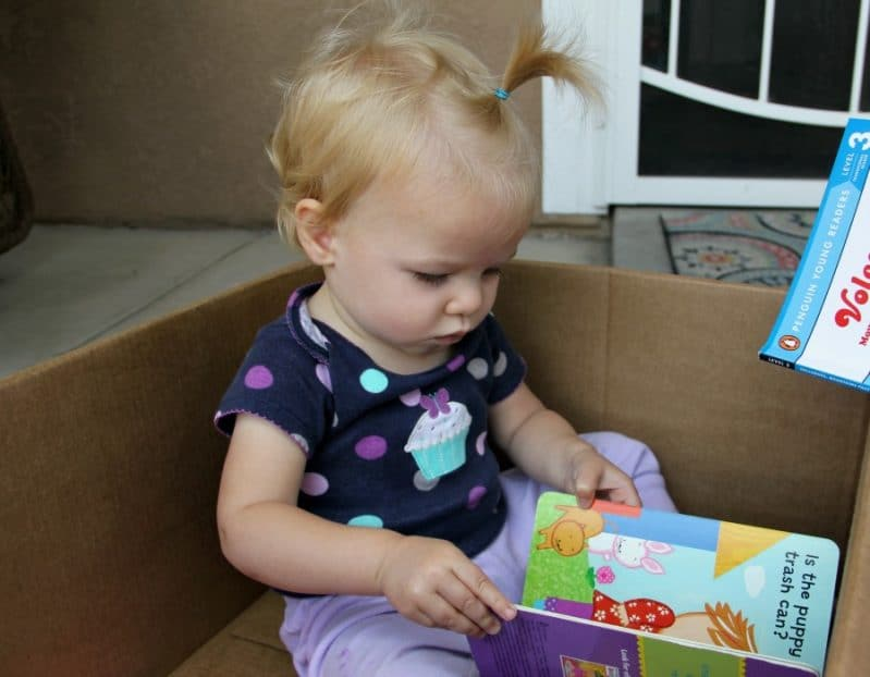 Make reading an adventure with books in a box