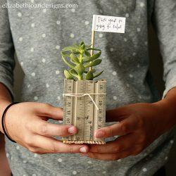 Planter teacher gift