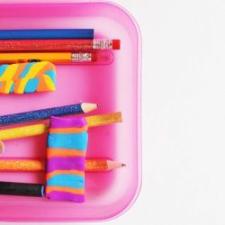 DIY Erasers - a back to school craft for kids