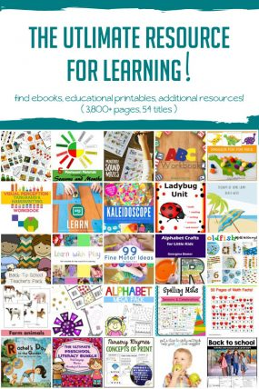 Back to School Bundle for Learning through Childhood