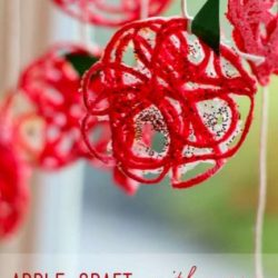 Apple Craft - a back to school craft for kids