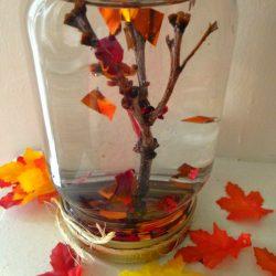 Maple Tree Leaf Globe