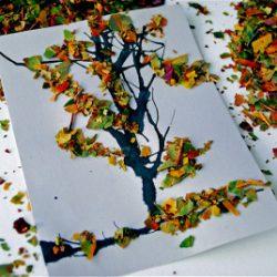 Autumn Trees Craft
