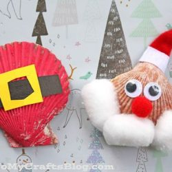 Seashell Santa Craft