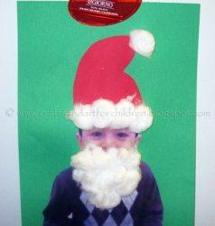 Easy Santa Craft for Kis