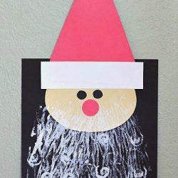 Santa Craft with Printed Beard