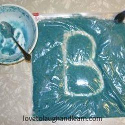 Warm Cooked Oatmeal Sensory Bag