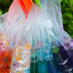 Rainbow Water Bead Sensory Bags