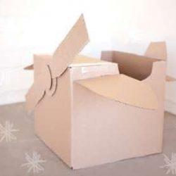 Cardboard Box Airplane Tutorial