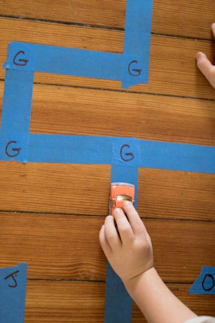 This is such a simple and fun maze activity for learning letters or numbers!