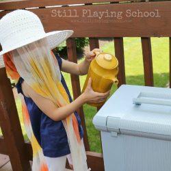 Beekeeping Pretend Play