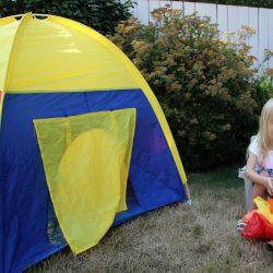 Preschool Camping Pretend Play