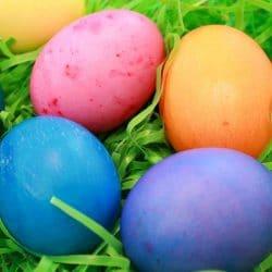Vibrant Egg Dye