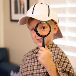 DIY Detective Dress Up