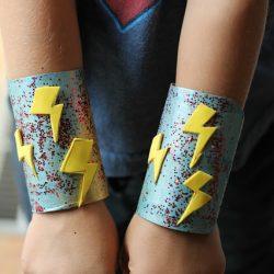 Super Hero Cuffs for Pretend Play