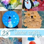 28 MORE Cute Winter Crafts for Kids!