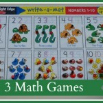 3 Math Games: A Hands on Mom Feature