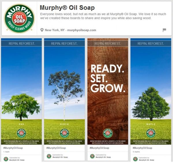 Murphy Oil Soap Repin. Reforest. #MurphyOilSoap #RepinReforest