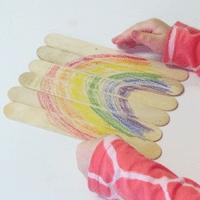 Rainbow Stick Puzzle