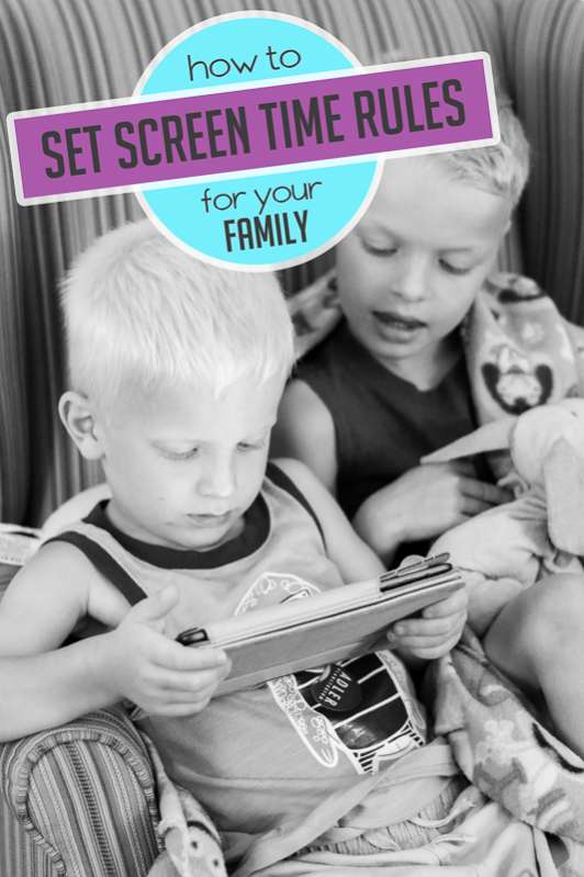 managing screen time rules for kids free guide hands on as we grow. Black Bedroom Furniture Sets. Home Design Ideas