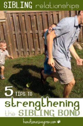 5 tips to strengthen the bond between siblings.