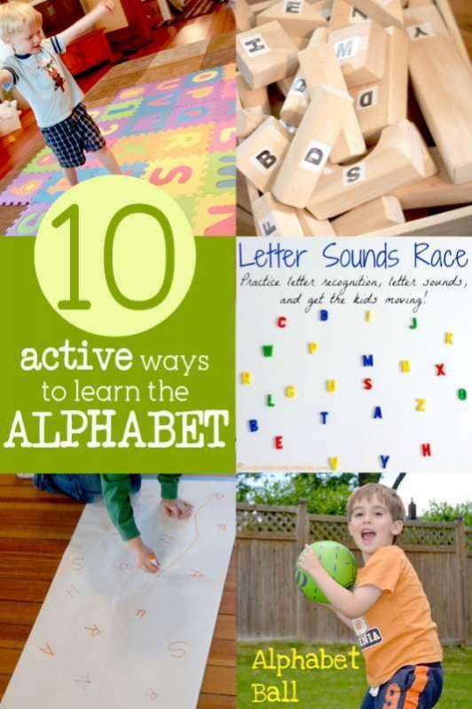 10 Active Activity Ideas to Learn the Alphabet | Hands On As We Grow