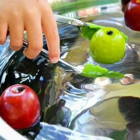 Fine Motor Bobbing for Apples