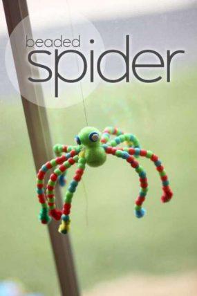 beaded-spider