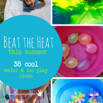38 Ways for Kids to Beat the Heat with Ice & Water Activities