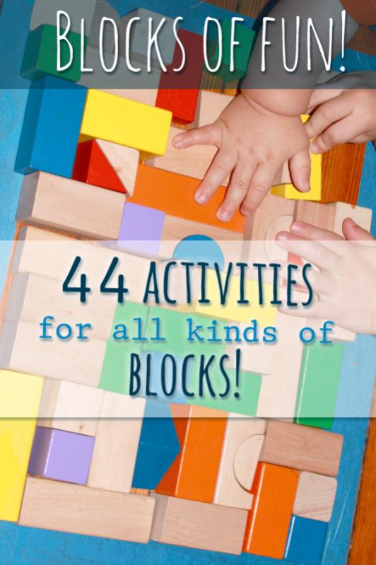 Block activities for preschoolers hands on as we grow