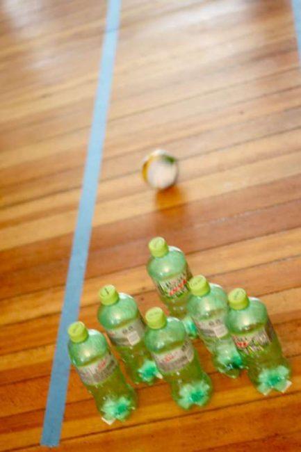 bottle-bowling