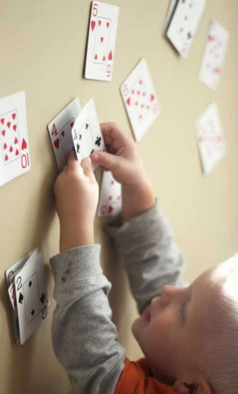 number match slap with playing cards hands on as we grow. Black Bedroom Furniture Sets. Home Design Ideas