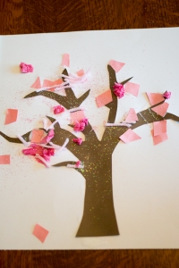 Spring Tree Craft for Toddlers